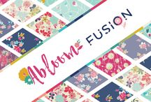 Abloom Fusion /  The Abloom Fusion is filled with memorable AGF floral prints from your favorite designers in a vibrant color story ideal for sewists who are passionate about bright feminine blooms.