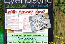 Tuck Everlasting Novel Study / by Lindsay Seagle