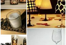 DIY creativ candles