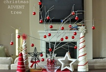 Table decorations: Christmas