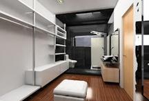 Ideas para baño y closet