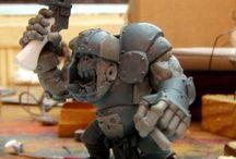 Gorkamorka / Umgebaute Fahrzeuge, Boys, Bots, Squigs usw. #Ork #Orc #Tank #Panza #Cybork #Buggy #Bot #Mekjob #Gorkamorka #Squig