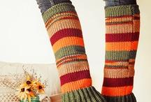 Knit legs