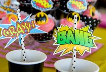 Girl Batman theme party