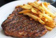 Les 10 plus beaux steak frites / La Délicieuse Découverte de la semaine est au Steak Frites & Cie, il s'agit du tSteak frites, mais voyez ce qui est proposé de par le monde!