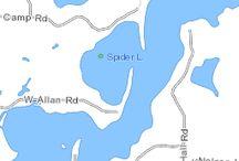 Spider Lake Hayward WI