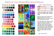 Colour personality- Spring