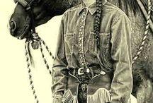 cowgirl artwork / by Shawn Ripley