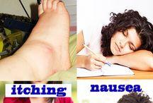 Kidney damage symptons cause