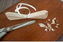 papírová kytka