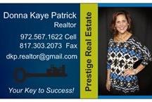 Realtor info / by Donna Kaye Patrick