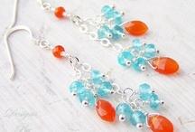Jewelry - Earrings / Earrings / by Tamar DeJong