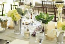 Wedding dinning tables