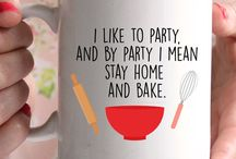 I like to bake..