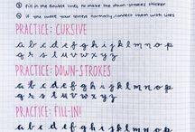 Ayuda para mejorar mi letra