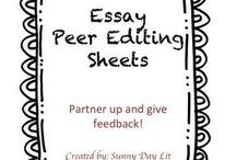 Writing / Writing ideas and activities to keep students interested in growing as writers.