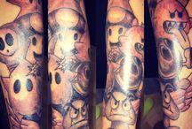 Super mario sleeve tattoo / My new ink