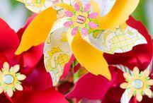 Bright Colourful Wedding Scheme / Bright and colourful wedding ideas