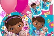 Doc McStuffins / Stort udvalg af Doc McStuffins festartikler til børnefødselsdag.