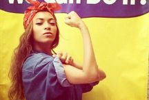 queen Bey / I woke up like this