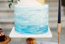 Ocean Wedding Cake Inspiration