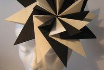 Tocados de origami