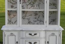 Wall paper cabinet