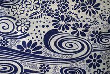 Vintage Textiles / Vintage fabric and textiles