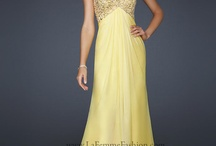 Yellow Prom Styles