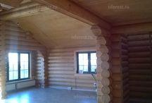 Норд Форест/Фотоотчеты / Наши построенные дома и фотоотчеты с наших строек. Здесь представлены как дома из бревна, так и дома из бруса (клееного или сухого)  Еще больше фото на нашем сайте - http://nforest.ru/gallery/?utm_source=pinterest&utm_medium=smm&utm_campaign=album&utm_content=nashi_doma