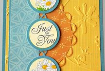 Cards incorporating doilies