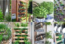 Small Garden Ideas / Space saving ideas for small gardens