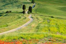 Voglio vivere in campagna...