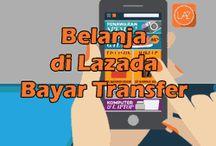 Cara Belanja di Lazada dengan Transfer Bank / Bayar diTempat