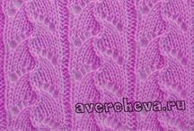 pletenie vzorky