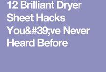 brillent dryer sheet usage