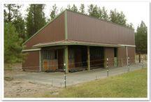 Agricultural Buildings / Agricultural Buildings built by Stimson Contracting (http://spokanebuildings.com)