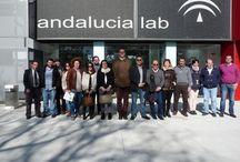 ANDALUCIA LAB / Destino Lebrija junto con el Cade y algunos empresarios Lebrijanos en Andalucia Lab en Marbella.