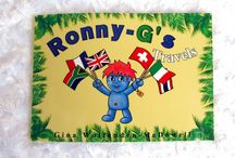 """Ronny-G's Travels (The Book) / Photographs of the """"Ronny-G's Travels"""" Book"""