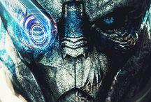 Mass Effect Portraits