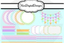 Frames and Ribbons / Digital Frames and Ribbons