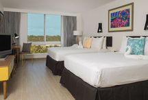 Rooms and Suites / Guests enjoy spacious accommodations with picturesque views of famous Paradise Island, the city of Nassau, and the always interesting Nassau Harbour.