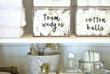 Bathroom organisation ideas