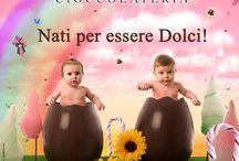 Pasqua , che passione! / La nostra produzione fatta di uova in cioccolato e non solo!