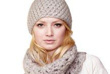 Crochet / Bonnet et snood