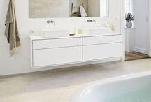 Bathroom / Inspiration til badeværelse til det nye hus