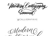 - Lettering - / All things calligraphy, typography, brushing, etc. ideas for my art.