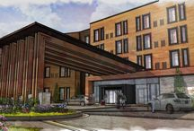 The Point Hotel / New 94-room hotel under construction. Set to open in November 2016. Features include small fitness center, 45-person meeting, reception space, new The Point Julia Café, great lobby and outdoor courtyard.