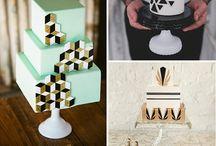 Cake themes - geometric