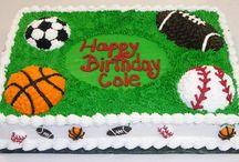 sports birthday cake for men 2